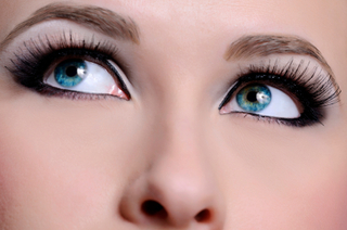 Colored contact lenses with opaque tints can dramatically change your eye color.