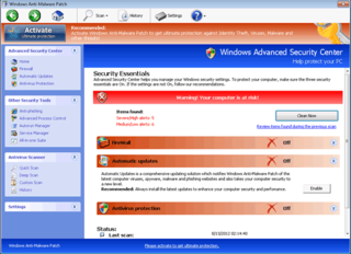 Windows Anti-Malware Patch is Another Fake Antimalware Created by Thieving Scammers