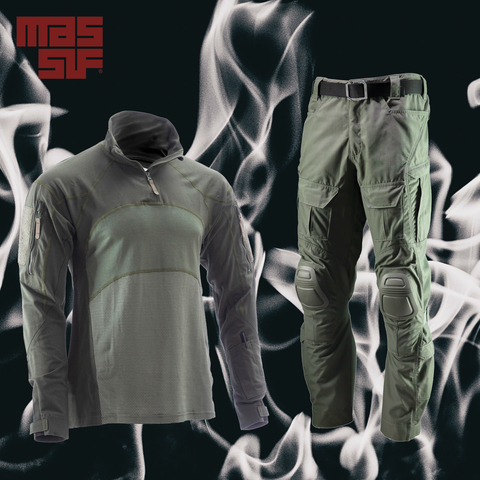 Advanced Quarter Zip Combat Shirt and Hellman Combat Pant from MASSIF®