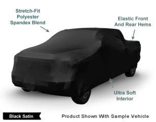 Introducing The All New Indoor Black Satin Shield Truck Cover From CarCovers.com