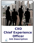 CXO - Chief Experience Officer Job Description