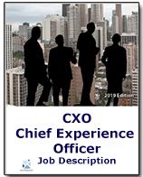 CXO - Chief Experience Officer Job Description