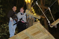 Couples will find The Adventure Park makes a great date--especially during the Park's nighttime hours.
