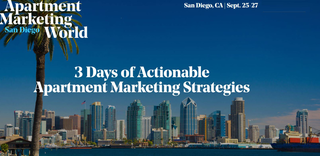 Apartment Marketing Leaders to Gather at the AMW2019 Conference in San Diego Sept. 25-27, 2019