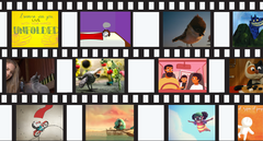 The Louisville Children's Film Festival will showcase 13 animated short films during the two 68-minute long showings on June 8th, 2019.