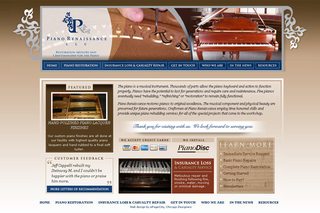 PIANO RENAISSANCE USES MODERN MARKETING TO PROMOTE OLD TIME SERVICES