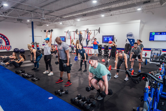 F45 St. Matthews utilizes a functional boot-camp style approach to training, so members get a full-body workout during every training session and burn body fat while building strong, lean muscle.