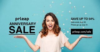 The PRLeap Anniversary Sale Starts Today