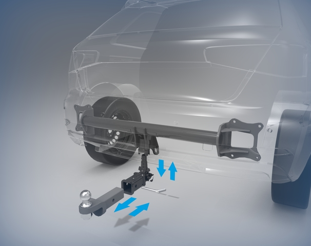 Removable towbars by ACPS Automotive do not disturb the design of a vehicle.