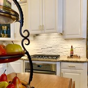A kitchen painted with Heirloom Traditions' All-In-One Paint