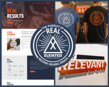 Elevated's Core Values - Reliability, Results, Results, and Real - are front and center on and offline throughout the digital agency.