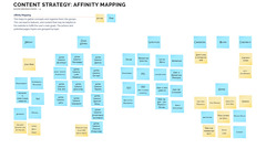 Affinity Mapping is Central to Elevated's Evolutionary Web Design Approach.