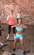 Simply Shuffle class in Los Angeles by master Simply Shuffle Trainer Shannon L.  burn fat without ever lifting your feet.