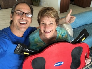 Fitness Researcher Invents Exerciser for Mom - now going global
