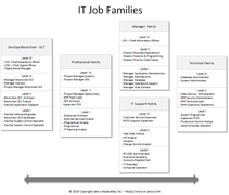 IT Job Family Classification System is designed to be used to create clear career paths and establish pay ranges that are competitive.