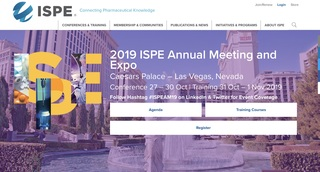 ESC Takes Part in the 2019 ISPE Annual Meeting and Expo
