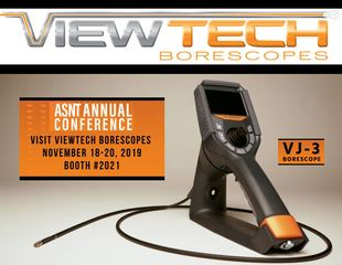 ViewTech Borescopes Exhibiting at 2019 ASNT Annual Conference