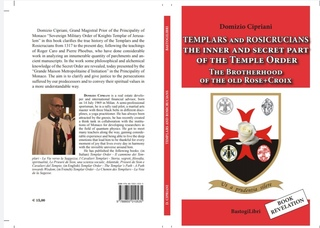 Domizio CIPRIANI Grand Prior of Templar Order of Principality of Monaco present him new book