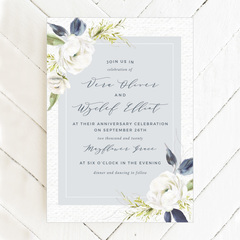 Completely Customizable Vow Renewal Invitations Premiered on BasicInvite.com