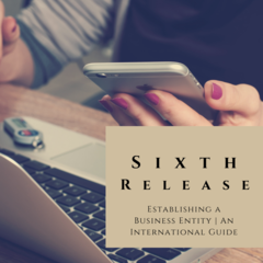 Sixth Release - 'Establishing a Business Entity: An International Guide'