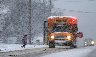 First Student Shares Top Winter Safety Tips for Motorists, Students and Parents