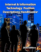 Janco releases the 2020 Edition of its Internet and IT Position Description HandiGuide