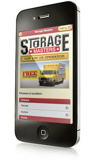 Storage Masters Mobile Website