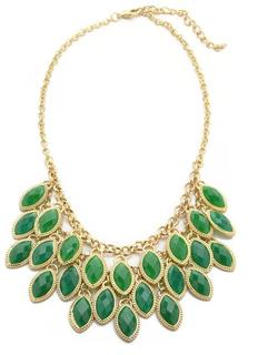 Triple Green Bib Necklace, $38.00 at www.outfitadditions.com