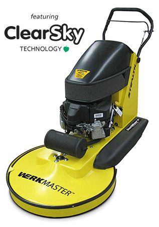 Stealth Propane Burnisher with DustMizer Dust Collection and ClearSKY Technology