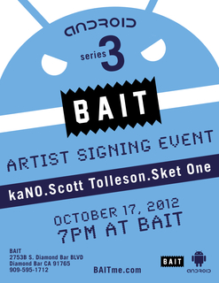 Android Series 3 Signing Event at BAIT