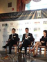 Euan Rellie speaking on a panel at the 2012 International M&A Advisor Summit