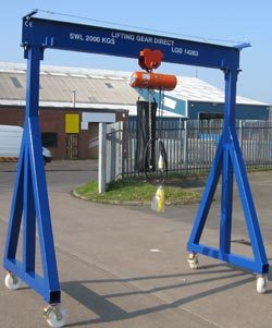 Lifting Equipment Ltd to Provide all Weather Gantry Crane Solutions