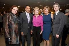 Tracey Bailey, Nitin Kawale, Sheila Jarvis, Dr. Golda Milo Manson, Dr. Ben Alman