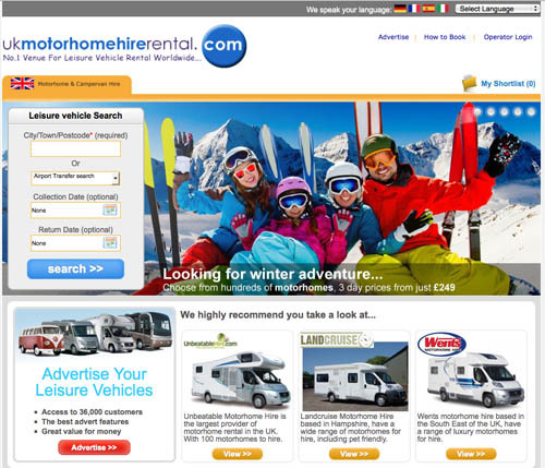No.1 venue for motorhome hire worldwide. Putting thousands of customers in direct contact with hundreds of leisure vehicle owners.
