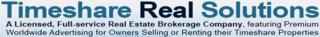 TimeshareRealSolutions.com Announces A Timeshare Liquidation