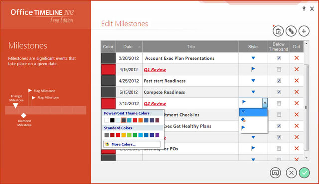 the world u0026 39 s  1 free powerpoint timeline maker for project