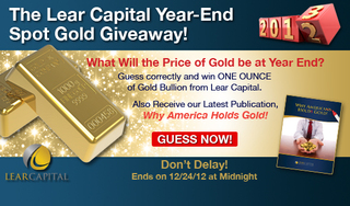 Lear Capital Announces Results of Presidential Gold Poll and launches a new Spot Gold Giveaway
