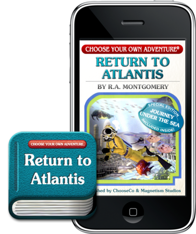 Choose Your Own Adventure®, Return to Atlantis for iPhone® image