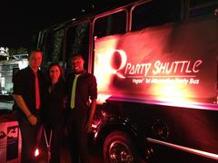 The Q Party Shuttle team.