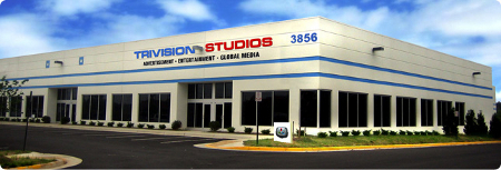 Trivision Studios media production and event center in Chantilly, Virginia