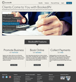 BookedIN helps small businesses get noticed, get booked and get paid
