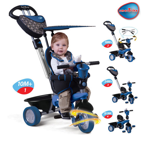 Smart-Trike 4 in 1 Dream with Touch Steering