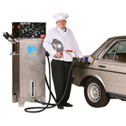The BioPro 190EX makes 50 gallons of premium-grade biodiesel from 50 gallons of used cooking oil in 23 hours.