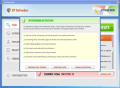 XP Defender is designed by scammers to steal money from naive PC users.