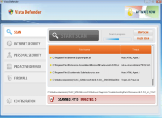 The Rogue Antispyware App Vista Defender Finds Its Way Onto Unprotected Windows PCs