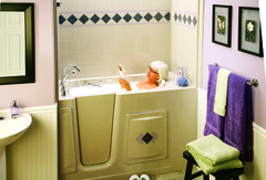 The joys of a comfortable soak in the tub can be available to the those with physical disabilities through the use of a walk in tub. For more info visit www.walkintubshop.com.
