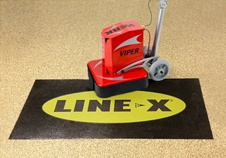 WerkMaster Concrete Grinders Are Machine of Choice for Line-X Award-Winning ASPART-X Flooring Solution for Residential a…