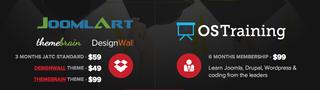 OSTraining and Joomlart Partner for Joomla, Drupal and WordPress Deal