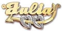 3D Love Necklace