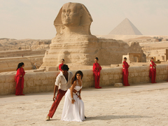 Bollywood in Egypt.